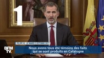 Catalogne: 4 phrases à retenir sur la déclaration cinglante du roi d'Espagne