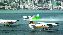 Excellent Amphibious Aircrafts Landing Takeoff Compilation