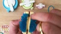 4 EASY Pom Pom Making Techniques - How to make a Pom Pom - Fork, Cardboard, Fingers & Pom Pom Maker