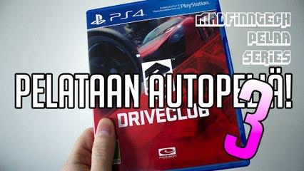 Pelataan autopeliä 3! - Let's Play Driveclub (PS4) - MadFinnTech Pelaa Series