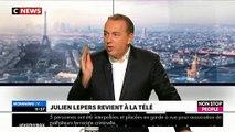 """EXCLU - Julien Lepers sera-t-il chroniqueur dans """"Touche pas à mon poste"""" sur C8 ? Il répond dans """"Morandini Live"""""""