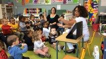 Les maternelles s'initient à la langue des signes