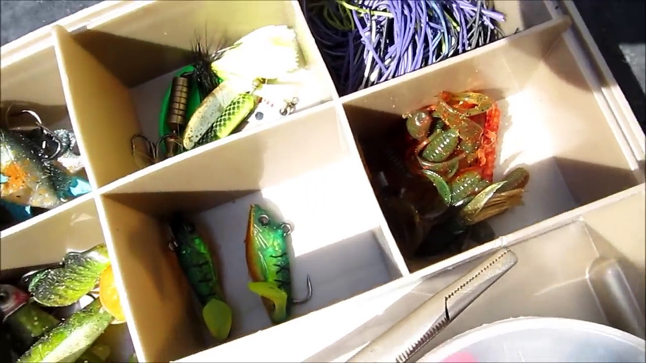 My Tackle Box and Fishing Rods