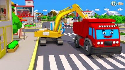 Montando TRATOR - Video para Criançinhas - Escavadeira - Caminhão - Capitulos novo