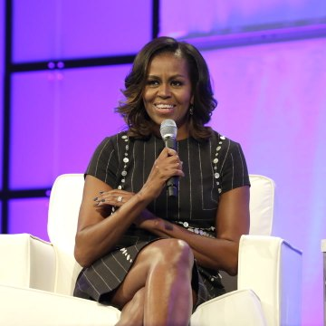 Michelle Obama is encouraging women to speak up