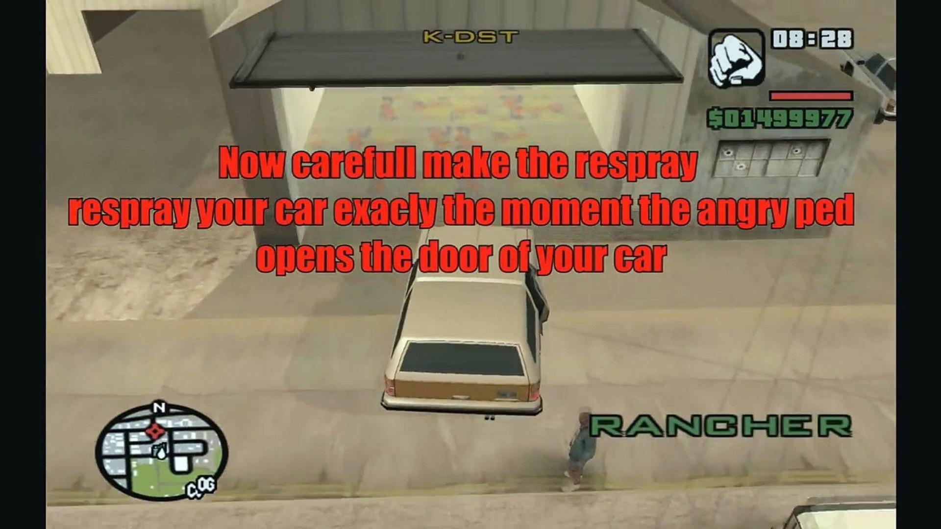 10 Fun Glitches in GTA San Andreas