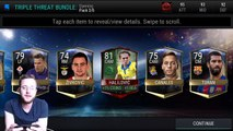 FIFA Mobile Triple Threat Bundle and Triple Threat Packs! Highest Game Changer Pull!