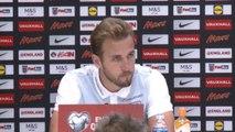 """Qualif. CdM 2018 - Kane: """"Très fier d'être capitaine"""""""