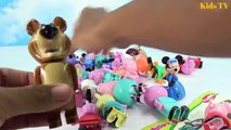 Peppa Pig And Masha and The Bear Blocks Mega House Construction Lego Sets Fun Toys For Kids