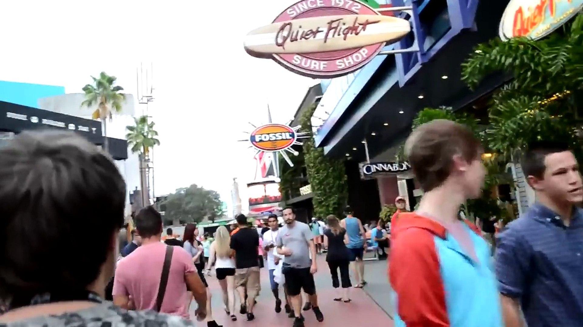 США. Ночь СТРАХА в парке Universal Studios Orlando! Halloween! Horror Nights :))