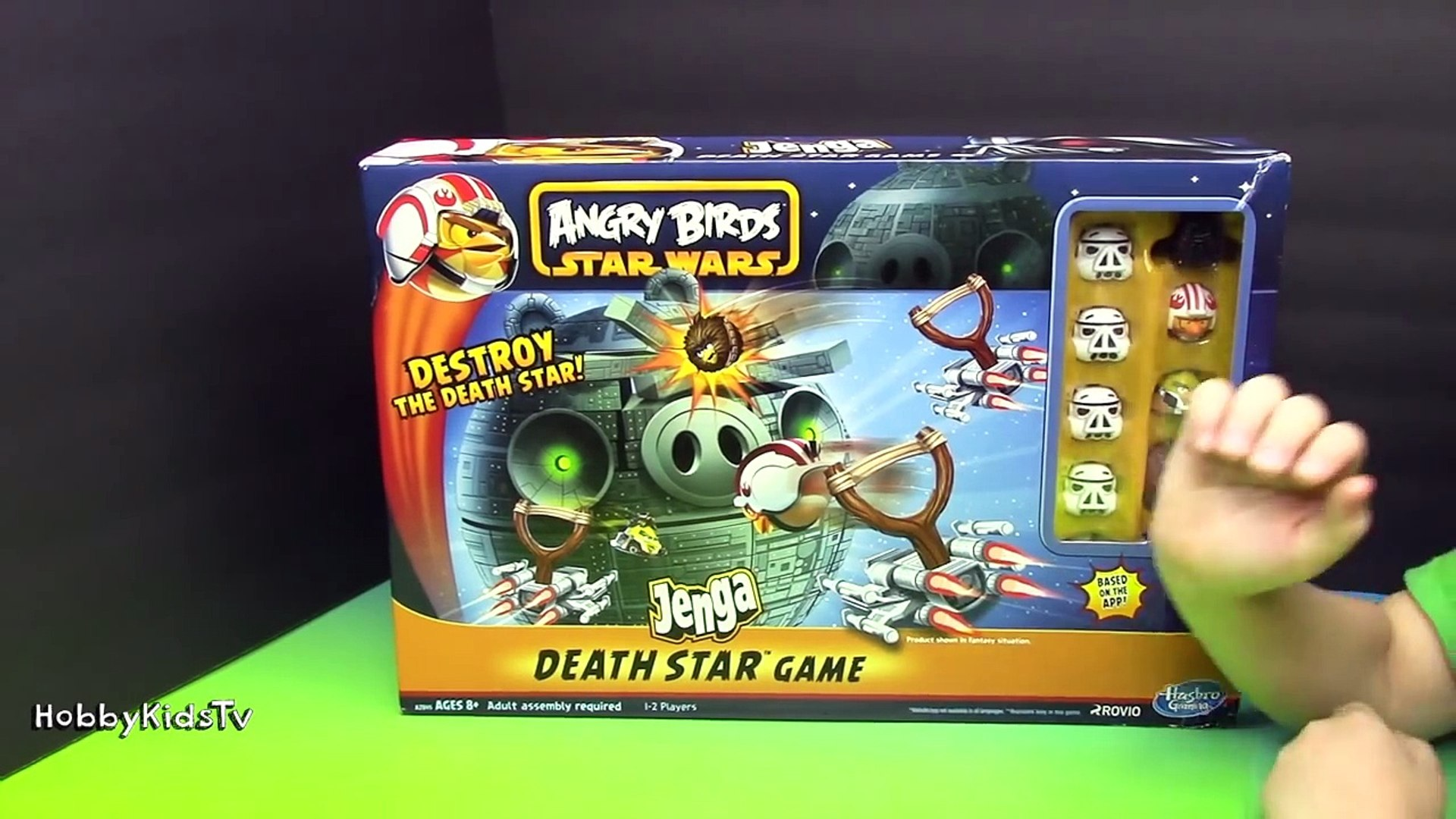 Angry Birds Star Wars Jenga Game Toy Open Review And Play Hasbo Video Dailymotion