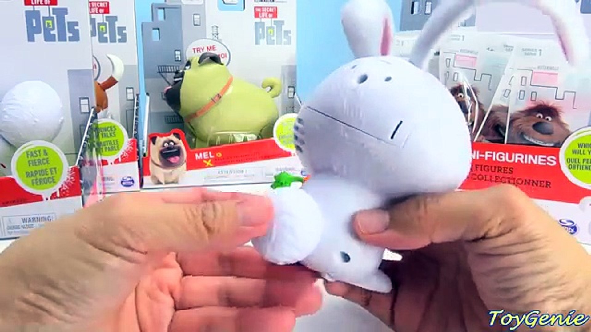 The Secret Life of Pets Blind Bags and Walking and Talking Pets