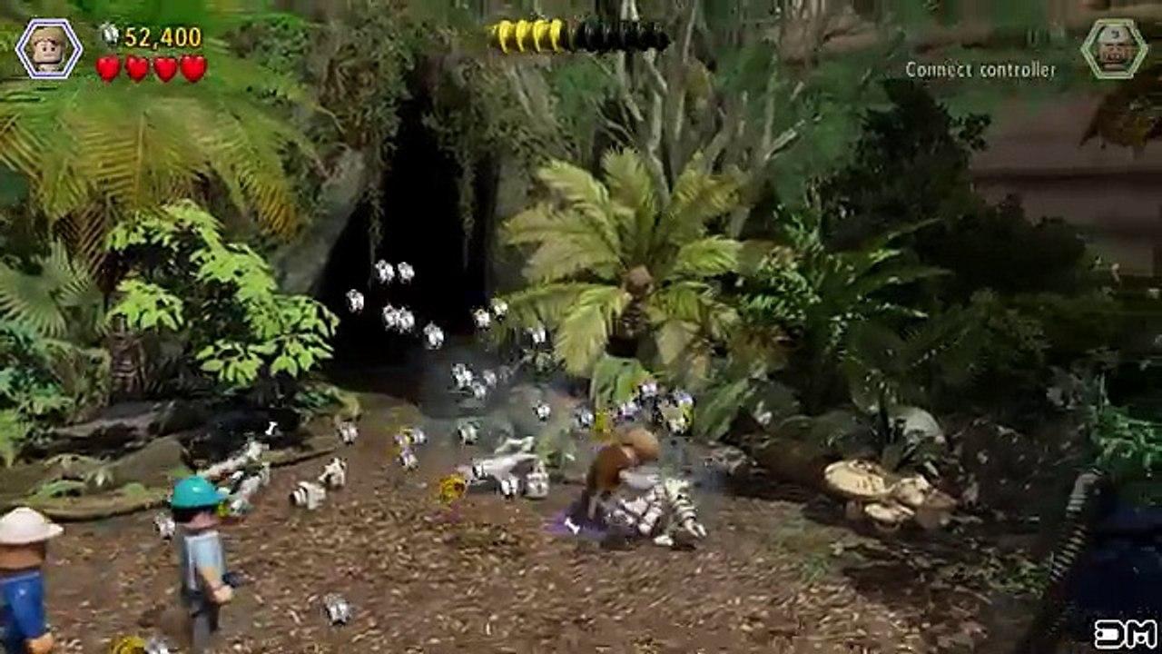 rex raptor move lego world