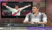 """Hernán Crespo: """"La Bombonera tiembla, es muy fuerte!"""""""