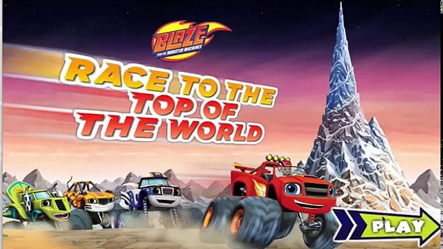 Blaze and the Monster Machines: Race to the Top of the World! | BLAZE Game By Nick Jr.