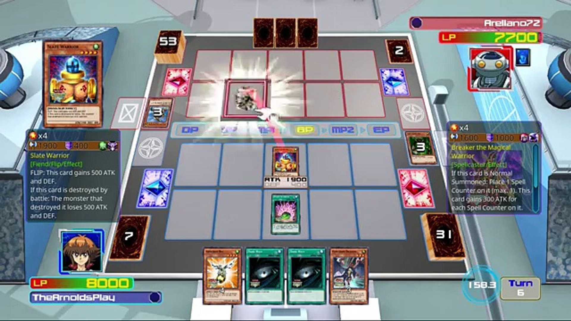 Yugioh! Legacy of the Duelist - Online Ranked #1 (PS4 Multiplayer)