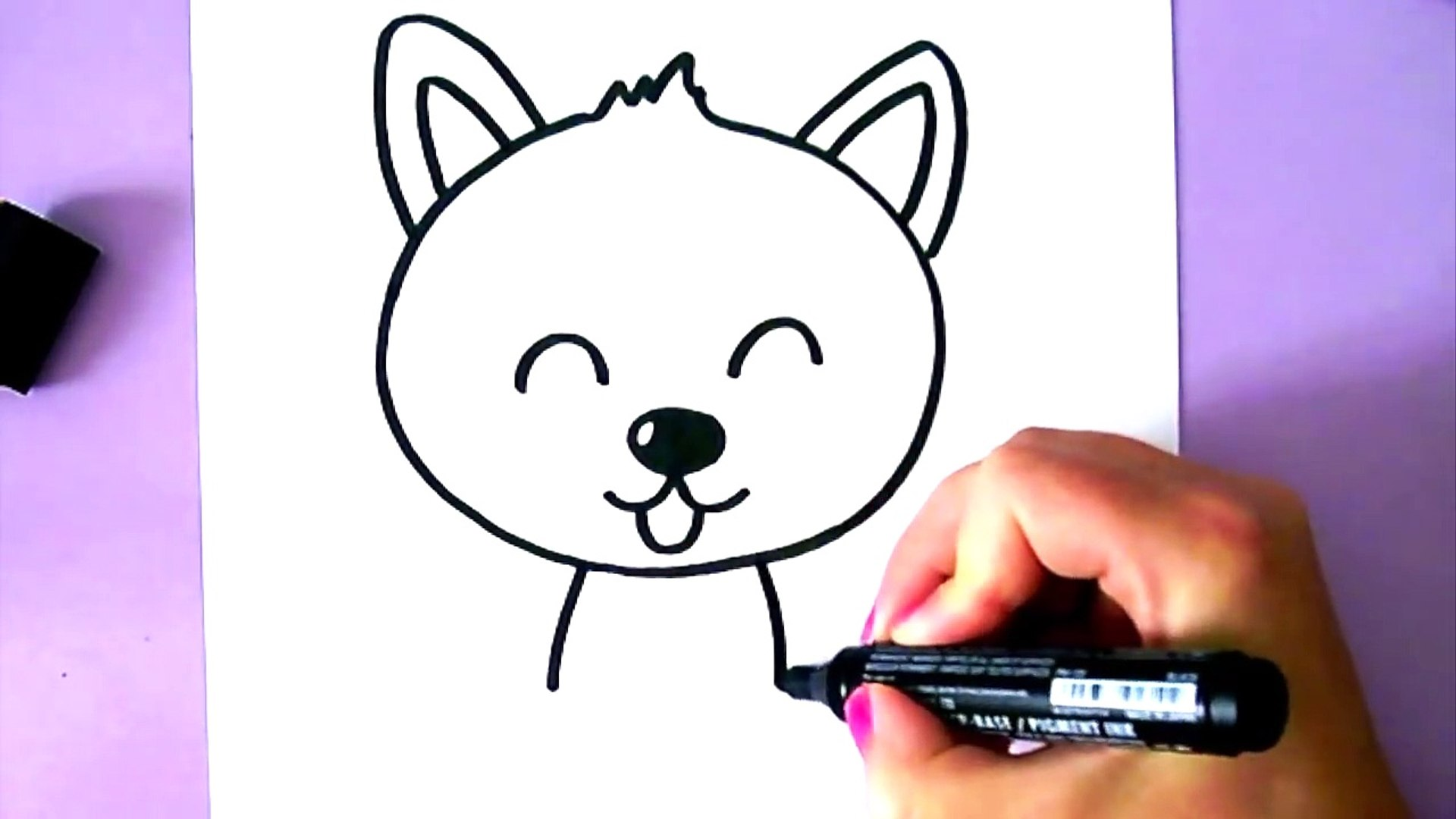 Comment Dessiner Un Chien Kawaii Rsspfye4tb8 Video Dailymotion