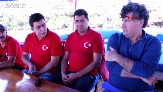 Bodrum Belediye Başkanı Mehmet Kocadon Başkan dalgıçlarla deniz dibi temizliği yaptı
