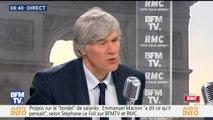 Bourdin Direct, BFM TV : Stéphane Le Foll fainéant ? Il répond à Emmanuel Macron (Vidéo)