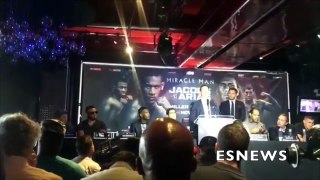 Daniel Jacobs Manager ' You Not Going To Do Sh_t ' Message To Arias EsNews Boxing-Pvf2wnsvPjc