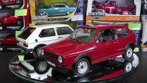 Versus / 1:18 Golf GTI 1978 y Golf GTI 1983, de Norev & Welly.