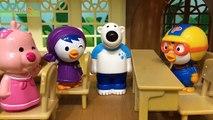 무서운이야기 귀신의 집에 진짜 귀신이 나타났다?!! 사라진 포비와 귀신 총출동!_뽀로로 방탈출 상황극 인형놀이 pororo toy animation ポロロ 애니킹