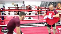 IN CAMP WITH JORGE LINARES - LINARES TALKS CAMPBELL, MIKEY GARCIA & WORKING WITH ISMAEL SALAS-PRhEW38PxCs