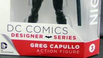 DC Collectibles Designer Series Greg Capullo Nightwing Figure Review