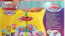Videos de juguetes de plastilina play doh LA TORRE DE MAGDALENAS o cupcakes con