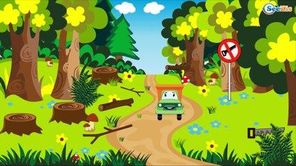 Camión - Dibujos animados de Coches - Camiónes infantiles - Carritos para niños Parte 2