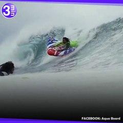 Le Sumo Suit, une combinaison gonflable pour surfer !