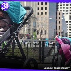 Contours Baby fabrique une poussette géante pour adulte !