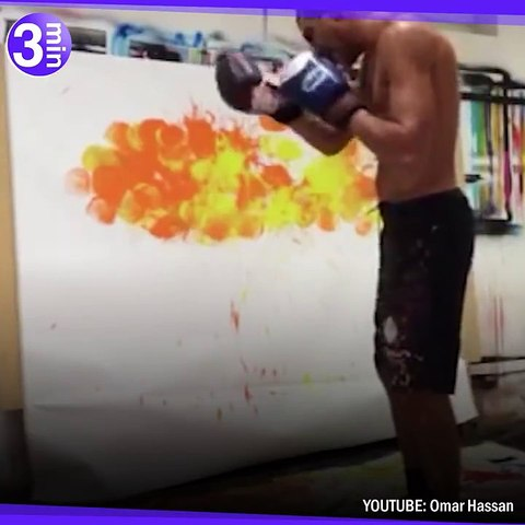 Le peintre boxeur