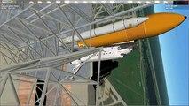 Orbiter 2016 - Space Shuttle Atlantis Orbital Launch and Commentary