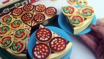 Pizza Party Melissa Doug Wooden Pizza Party Make Pizza