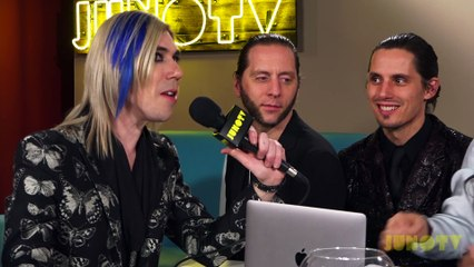 Marianas Trench Backstage at The 2017 JUNO Awards