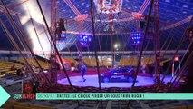 Sur place au cirque Pinder