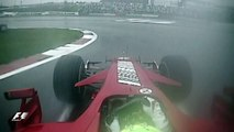 Massa Battles Kubica - 2007 Japanese Grand Prix