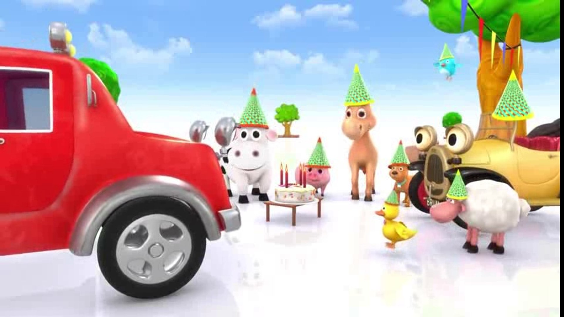 Brum and Beep's Birthday Party - KIDS SHOW FULL EPISODE - Cars and Trucks for kids