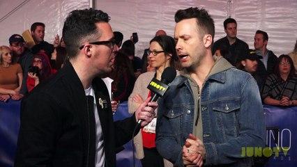 Dallas Smith on the 2017 JUNO Awards Red Carpet