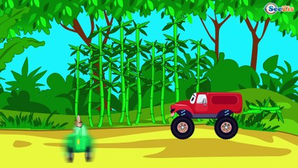 The Police car helps Friends - Monster Truck TV - Cars & Trucks for Kids
