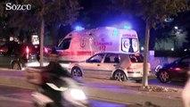 Üniversiteye silahla girmeye çalışan şahıs 2 güvenlik görevlisini yaraladı