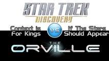 Discovery #3 vs. The Orville #2 - Trek it Wreck it!
