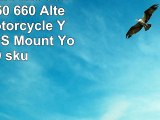 Garmin Zumo 220 350 400 500 550 660 Alternative Motorcycle Yoke Cap GPS Mount  Yoke 40