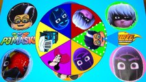 Spin the Wheel Game Find Avengers, Paw Patrol Toys - Get Slimed and Spin the Wheel