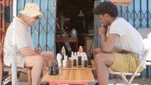 Josh Jackson Plays Chess with an Old Guy on Our Block