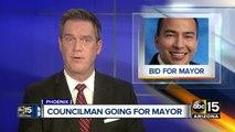 Mayor Greg Stanton announces Congress run