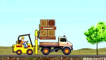 Trator e Caminhão Desenho Animado de Carros e Tratores com Canções Infantis Divertidas Para Crianças