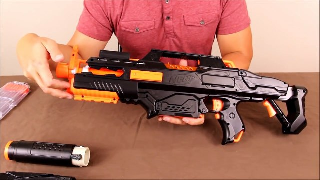 Nerf Rapidstrike with 15v and custom paint