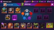 TMNT Legends PVP 299 (Raphael LARP, Leonardo Legend, Donatello Vision, Mikey Movie)